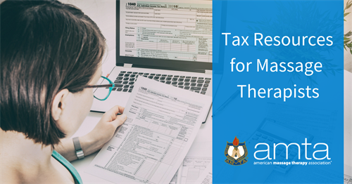 Tax resources for massage therapists